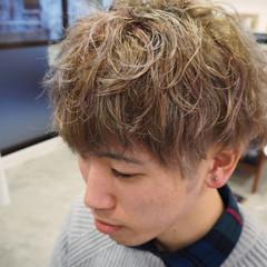アッシュ ストリート メンズ 外国人風 ヘアスタイルや髪型の写真・画像