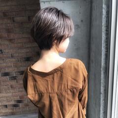 ナチュラル ショート ゆるふわ 女子力 ヘアスタイルや髪型の写真・画像