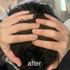 頭皮ケア ヘアケア リラクシー ショート ヘアスタイルや髪型の写真・画像
