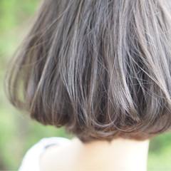 透明感 グレージュ 外国人風カラー アッシュ ヘアスタイルや髪型の写真・画像