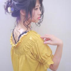 シニヨン 二次会 結婚式 ヘアアレンジ ヘアスタイルや髪型の写真・画像