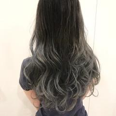 外国人風 エフォートレス 外国人風カラー ハイライト ヘアスタイルや髪型の写真・画像