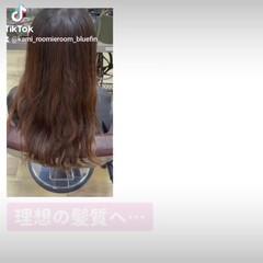 ナチュラル 髪の病院 美髪 セミロング ヘアスタイルや髪型の写真・画像