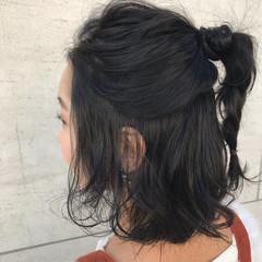 ニュアンス ヘアアレンジ 簡単ヘアアレンジ デート ヘアスタイルや髪型の写真・画像