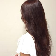 アッシュ ピンク フェミニン 大人かわいい ヘアスタイルや髪型の写真・画像