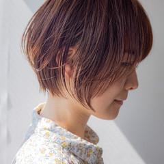 抜け感 ショート ショートヘア 大人かわいい ヘアスタイルや髪型の写真・画像