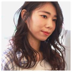 簡単 アッシュ ナチュラル 渋谷系 ヘアスタイルや髪型の写真・画像