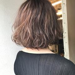 モード ブリーチ ナチュラル イルミナカラー ヘアスタイルや髪型の写真・画像