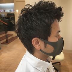 メンズカット ショート メンズ メンズヘア ヘアスタイルや髪型の写真・画像