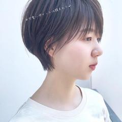 ショートヘア ショートカット ショート ハンサムショート ヘアスタイルや髪型の写真・画像
