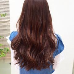 ヘアアレンジ ガーリー 女子力 ロング ヘアスタイルや髪型の写真・画像