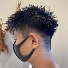 モード 韓国 刈り上げ メンズ ヘアスタイルや髪型の写真・画像