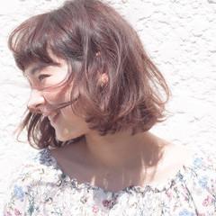 ボブ 外国人風 ピュア ストリート ヘアスタイルや髪型の写真・画像