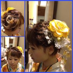 ショート ヘアアレンジ ラフ 艶髪 ヘアスタイルや髪型の写真・画像