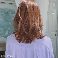 エレガント モテ髪 ミディアム ゆるふわ ヘアスタイルや髪型の写真・画像