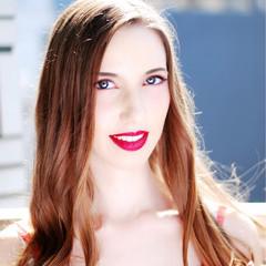 外国人風 ピュア 大人かわいい コンサバ ヘアスタイルや髪型の写真・画像