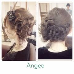 ヘアアレンジ 結婚式 愛され モテ髪 ヘアスタイルや髪型の写真・画像