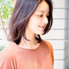 大人かわいい 大人女子 黒髪 フェミニン ヘアスタイルや髪型の写真・画像