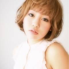 ナチュラル ショート モテ髪 ガーリー ヘアスタイルや髪型の写真・画像