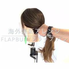 ショート ヘアアレンジ ナチュラル デート ヘアスタイルや髪型の写真・画像