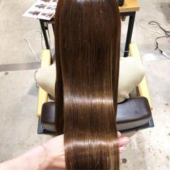 オフィス グレージュ サイエンスアクア 髪質改善 ヘアスタイルや髪型の写真・画像