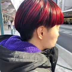 モード ブリーチ ブリーチカラー ブリーチオンカラー ヘアスタイルや髪型の写真・画像