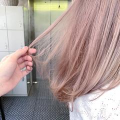最新トリートメント ハイトーン ハイトーンカラー ロング ヘアスタイルや髪型の写真・画像