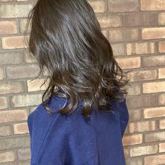イルミナカラー ナチュラル 透明感 ダークカラー ヘアスタイルや髪型の写真・画像