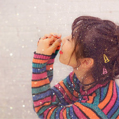 簡単ヘアアレンジ おフェロ ショート ミディアム ヘアスタイルや髪型の写真・画像