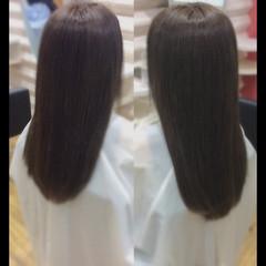 ナチュラル 髪質改善トリートメント ロング 髪質改善 ヘアスタイルや髪型の写真・画像