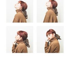 ショート 前髪あり ヘアアレンジ モード ヘアスタイルや髪型の写真・画像