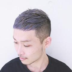 ボーイッシュ メンズ 外国人風 アッシュ ヘアスタイルや髪型の写真・画像