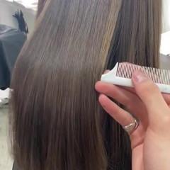 セミロング 3Dハイライト ナチュラル ブリーチカラー ヘアスタイルや髪型の写真・画像