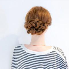 オフィス ロング エレガント ヘアアレンジ ヘアスタイルや髪型の写真・画像