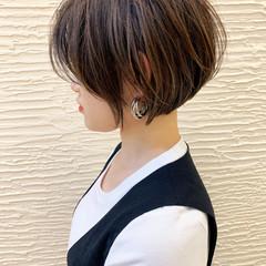 大人かわいい ショート ショートボブ ショートヘア ヘアスタイルや髪型の写真・画像