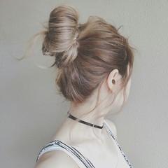 色気 夏 外国人風 ヘアアレンジ ヘアスタイルや髪型の写真・画像
