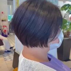 ミニボブ ショートボブ ボブ ショートヘア ヘアスタイルや髪型の写真・画像