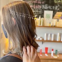 ストリート インナーカラー ボブ 透明感カラー ヘアスタイルや髪型の写真・画像