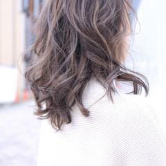 大人女子 エレガント ハイライト 上品 ヘアスタイルや髪型の写真・画像