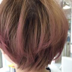 レッド 春 愛され ピンク ヘアスタイルや髪型の写真・画像