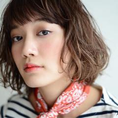 大人かわいい パーマ グラデーションカラー 外国人風 ヘアスタイルや髪型の写真・画像