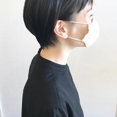 ナチュラル 大人女子 ショートヘア ショート ヘアスタイルや髪型の写真・画像