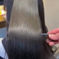 髪質改善トリートメント ロング 髪質改善カラー ナチュラル ヘアスタイルや髪型の写真・画像