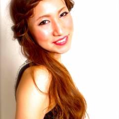 パーティ コンサバ アップスタイル 編み込み ヘアスタイルや髪型の写真・画像