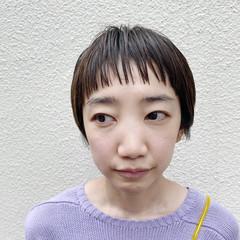 ショートボブ ベリーショート ミニボブ ショート ヘアスタイルや髪型の写真・画像