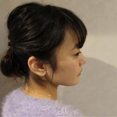 大人かわいい ショート 簡単ヘアアレンジ 成人式 ヘアスタイルや髪型の写真・画像