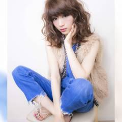 ヘアアレンジ フェミニン ゆるふわ ミディアム ヘアスタイルや髪型の写真・画像