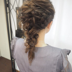 ナチュラル 結婚式 デート ヘアアレンジ ヘアスタイルや髪型の写真・画像