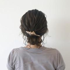 夏 デート 涼しげ ヘアアレンジ ヘアスタイルや髪型の写真・画像