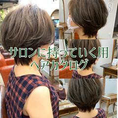 ストリート アンニュイほつれヘア ショートヘア デート ヘアスタイルや髪型の写真・画像